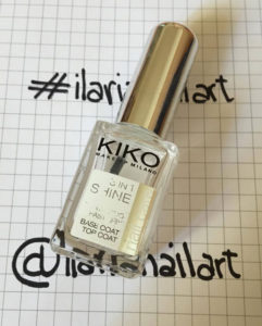top coat 3 in 1 shine kiko milano