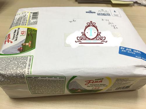 scatola con prodotti cocofina